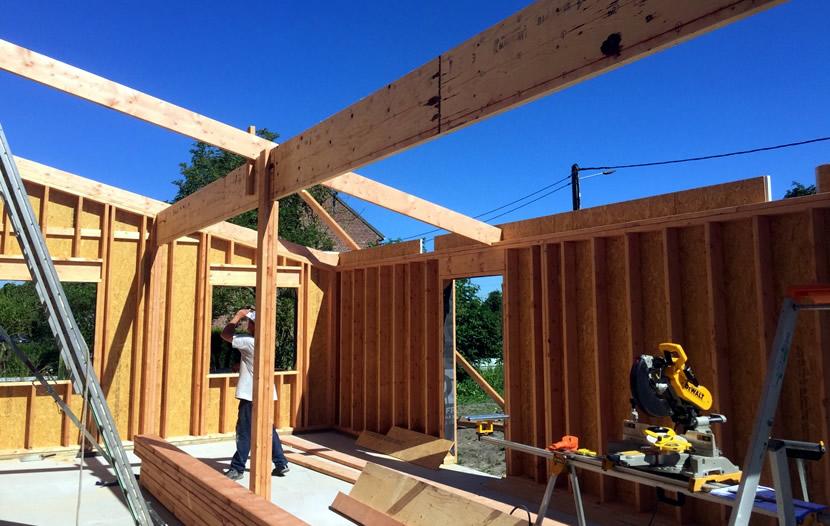 Sp cialiste dans la construction de maison en ossature bois au nord - Probleme maison ossature bois ...