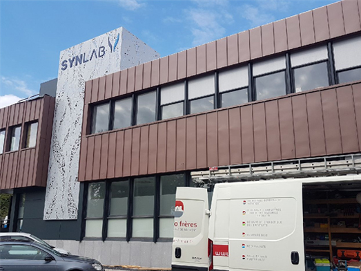 Laboratoire Synlab à Wasquehal